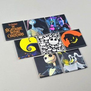 Nightmare Before Christmas Button Pins Horror Film